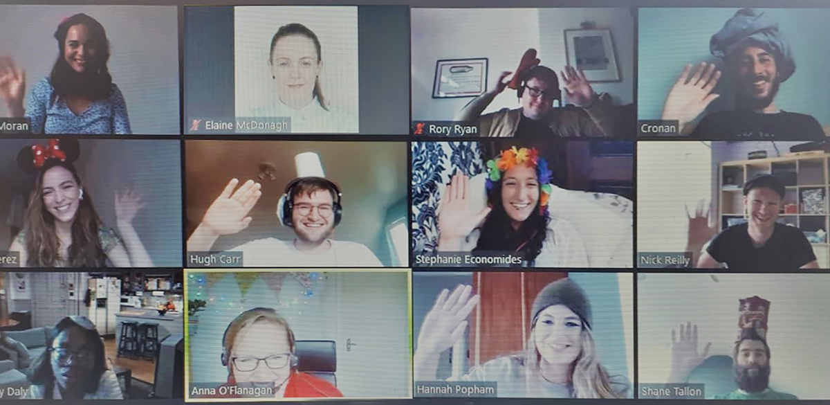 How do you build and maintain a remote team connection?