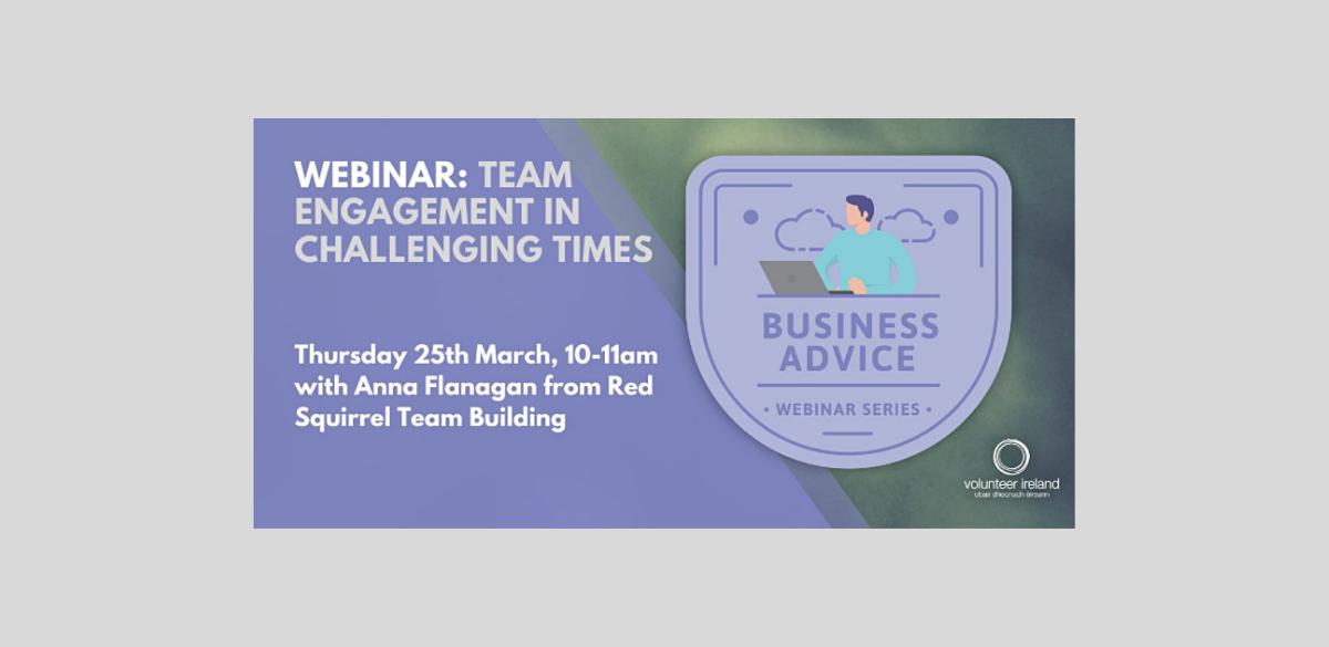 FREE webinar on team engagement